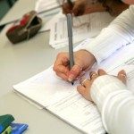 اختبار الفصل الاول مادة اللغة الفرنسية السنة الرابعة متوسط مع التصحيح